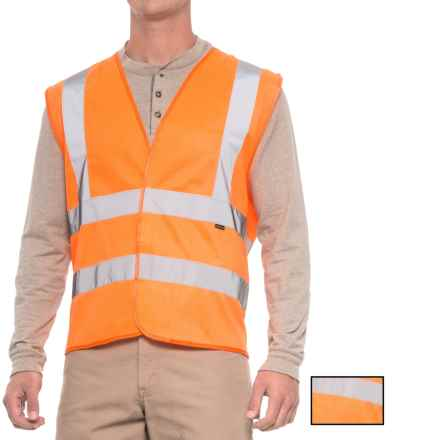 Stanley Safety Reflective Vest - 2-Pack in Orange - Closeouts