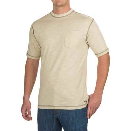 Stanley Slubber Pocket T-Shirt - Short Sleeve (For Men) in Cement - Closeouts
