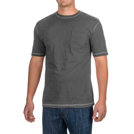 Stanley Slubber Pocket T-Shirt - Short Sleeve (For Men) in Navy - Closeouts