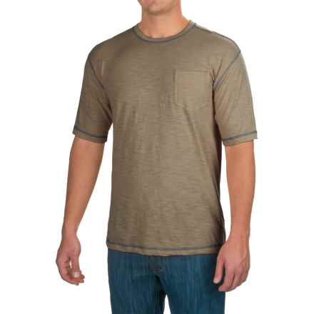 Stanley Slubber Pocket T-Shirt - Short Sleeve (For Men) in Sage - Closeouts