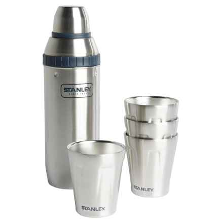 Stanley Stainless Steel Shaker Happy Hour System - 7-Piece, 30 fl.oz. in Stainless - Closeouts