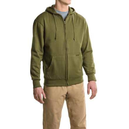 Stanley Thermal-Lined Hoodie - Full Zip (For Men) in Olive - Closeouts