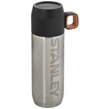 Stanley Vacuum Bottle - 16 fl.oz., BPA-Free in Stainless Steel Big Logo - Closeouts
