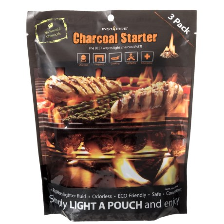 Stansport Instafire Charcoal Starter - 3-Pack in See Photo