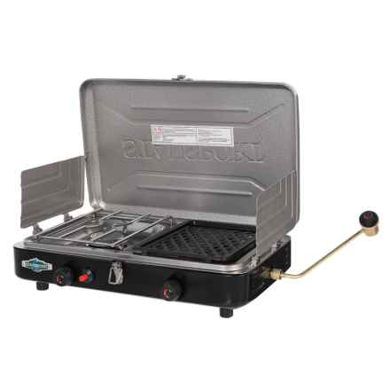 Stansport Portable Propane Stove/Grill in See Photo - Closeouts
