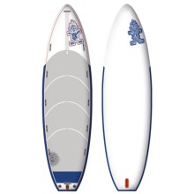 "Starboard Astro Starship Inflatable Stand-Up Paddle Board - 18'6""x5'8"" in See Photo - Closeouts"