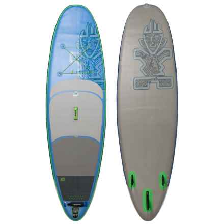 "Starboard Astro Whopper Deluxe Inflatable Stand-Up Paddle Board - 10'6"" in White - Closeouts"