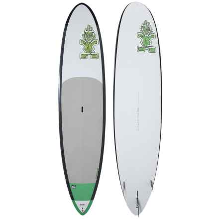 Starboard Atlas ASAP Stand-Up Paddle Board - 12' in White/Green - Closeouts