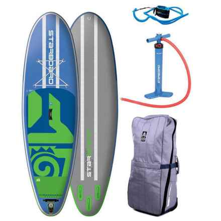 Starboard Inflatable Whopper Stand-Up Paddle Board Kit - 10' in Blue/Green