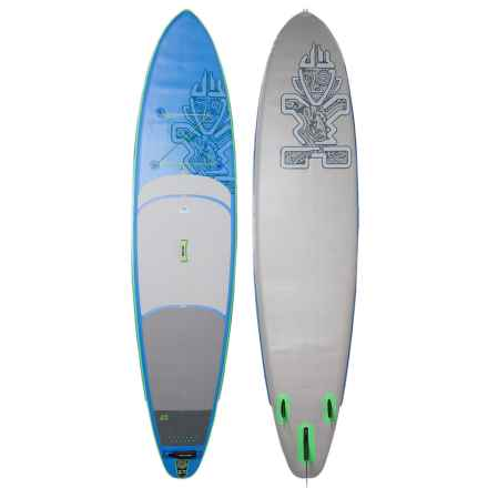 """Starboard Wide Point Deluxe Inflatable Stand-Up Paddle Board - 10'5"""" in Blue/Red - Closeouts"""