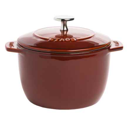 Staub Cast-Iron Petite French Oven - 1.5 qt. in Red - Closeouts