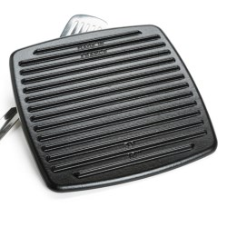"Staub Grill Press - 12"", Cast Iron in Black"