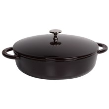 "Staub Hexagon 9-3/8"" Saute Pan - 2.5 qt. in Aubergine - Closeouts"