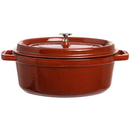 Staub Oval Cocotte Dutch Oven - 4.25 qt. in Red - Closeouts