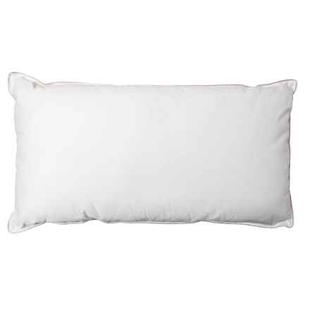 Stearns and Foster Fairmont Cotton Pillow - King, 1000 TC, White in White