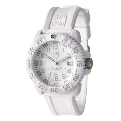 Steel Colormark Tritium Illumination Watch - 45mm,