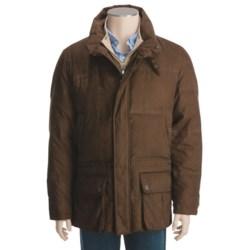 Steinbock Goose Down Car Coat (For Men) in Brown