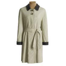 Steinbock Microfiber Car Coat - Wool Lined (For Women) in Beige - Closeouts