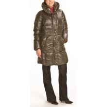 Steinbock Quilted Down Coat (For Women) in Bronze - Closeouts