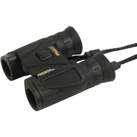 Steiner Predator Pro Compact Binoculars - 8x22, Waterproof, Roof Prism in Forest Green