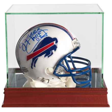 "Steiner Sports Jim Kelly ""H O F '02"" Signed Buffalo Bills® White Mini Helmet in See Photo - Closeouts"