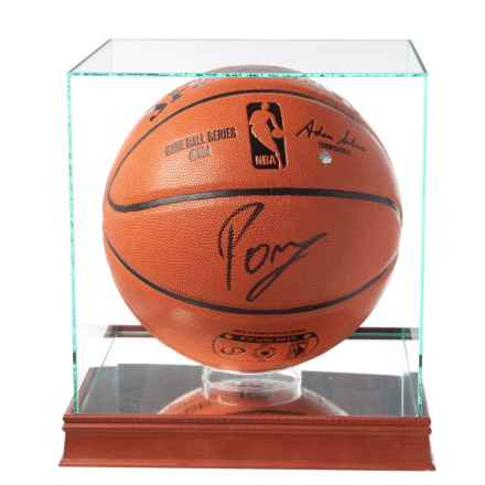 Steiner Sports Kristaps Porzingis Signed NBA® Game Ball in See Photo - Closeouts
