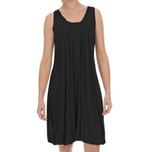 Stella Carakasi Day After Day Crew Dress - Sleeveless (For Women) in Black - Closeouts