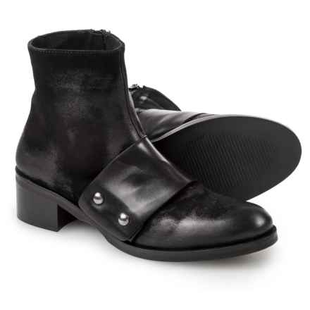 38a9e567fa08 Stelle Monelle Made in Italy Studded Band Booties - Leather (For Women) in  Black