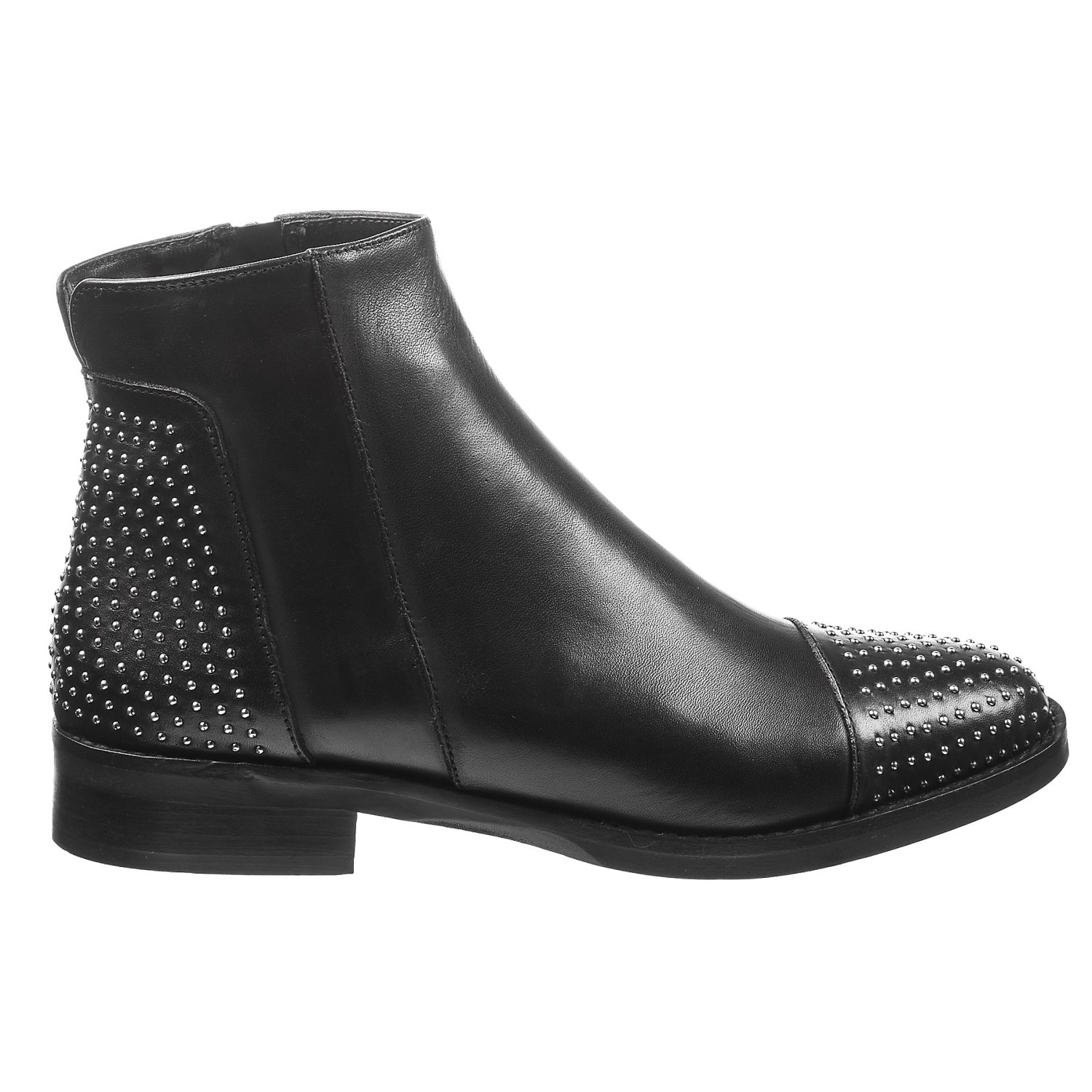 Leather Half Toe Shoes