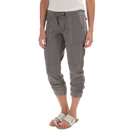 Steph Joggers - Linen-Cotton (For Women)