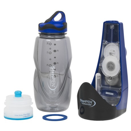 SteriPEN Sidewinder Battery-Free UV Water Purifier in See Photo