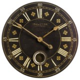 "Sterling & Noble 29"" Frameless Pendulum Wall Clock"
