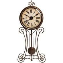 Sterling & Noble Classic Pendulum Wall Clock in Bronze - Closeouts