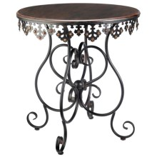 Sterling Industries Anatole Scrolled Metalwork Table in See Photo - Closeouts