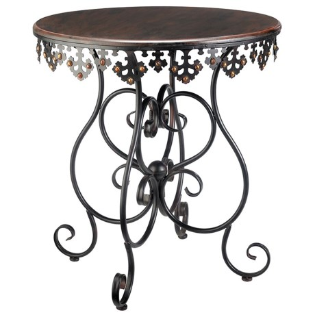 Sterling Industries Anatole Scrolled Metalwork Table