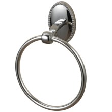 Sterling Industries Bancroft Zinc Towel Ring in Chrome - Closeouts