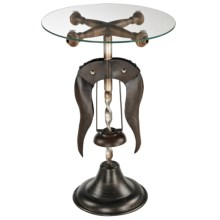 Sterling Industries Burgundy Accent Table in Burgandy - Closeouts