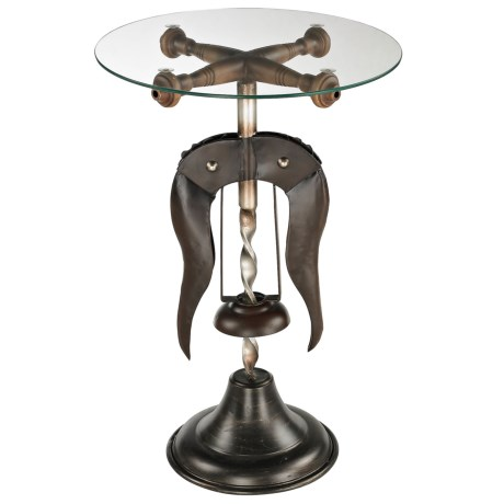 Sterling Industries Burgundy Accent Table