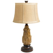 Sterling Lighting Maple Falls Ceramic Table Lamp in Wheat Glaze - Closeouts