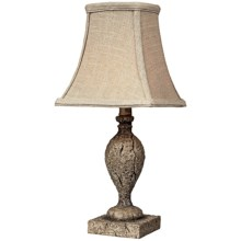 Sterling Lighting Reclaimed Wood Style Table Lamp in Martinique Warm Wood - Overstock