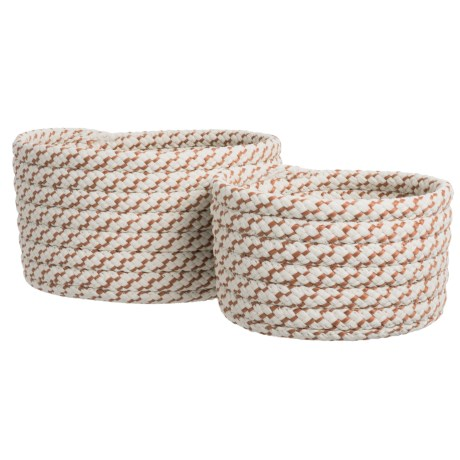 Sterling Nesting Baskets - Set of 2