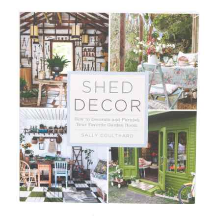 Sterling Publishing Shed Decor, Paperback Book in Multi - Closeouts
