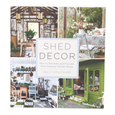 Sterling Publishing Shed Decor, Paperback Book in Multi