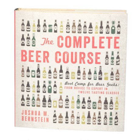 Sterling Publishing The Complete Beer Course, Hardcover Book in Multi