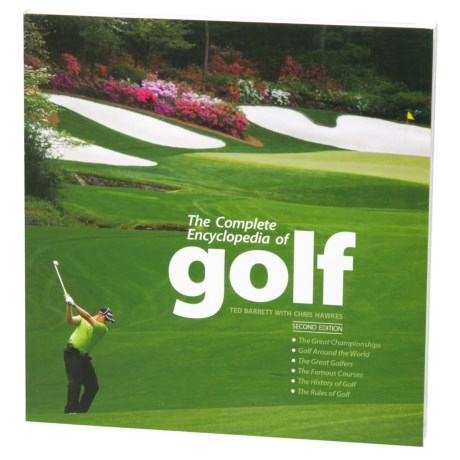 Sterling Publishing The Complete Encyclopedia of Golf, Paperback Book in Multi