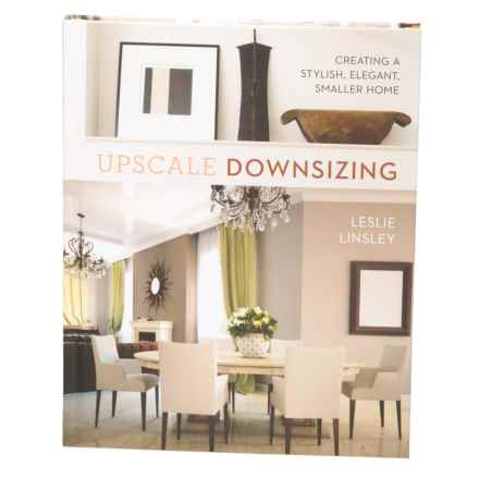 Sterling Publishing Upscale Downsizing, Hardcover Book in Multi - Closeouts