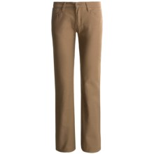 Stetson Brushed Slick Pants - 5-Pocket, Bootcut (For Women) in Tan - Closeouts