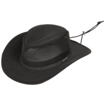 Stetson Comfort Safari Hat - UPF 50+ (For Men and Women) in Black - Closeouts