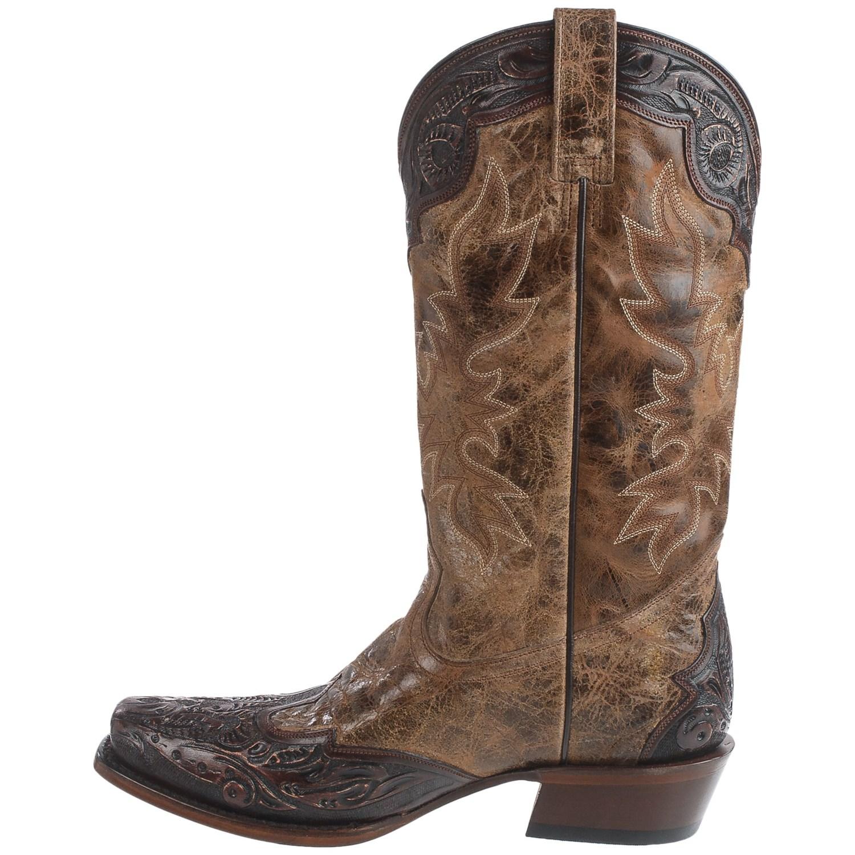 Stetson Delamar Cowboy Boots For Men Save 51