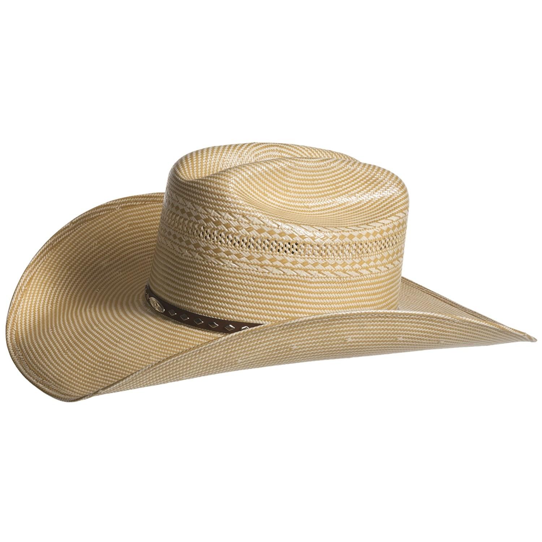 Stetson Cowboy Hat Men Stetson Fancy Straw Cowboy Hat